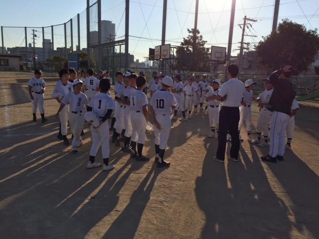 「第8回中央区少年団親善野球大会 神戸東ロータリークラブ杯」開催