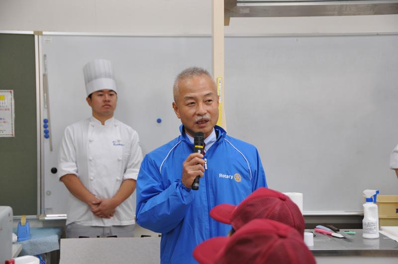 「障がい者福祉事業所へのお菓子作り教室」実施 2016.10.15