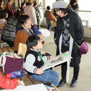 第6回神戸市立王子動物園 絵画教室(永田萌さんとの写生会)が実施されました